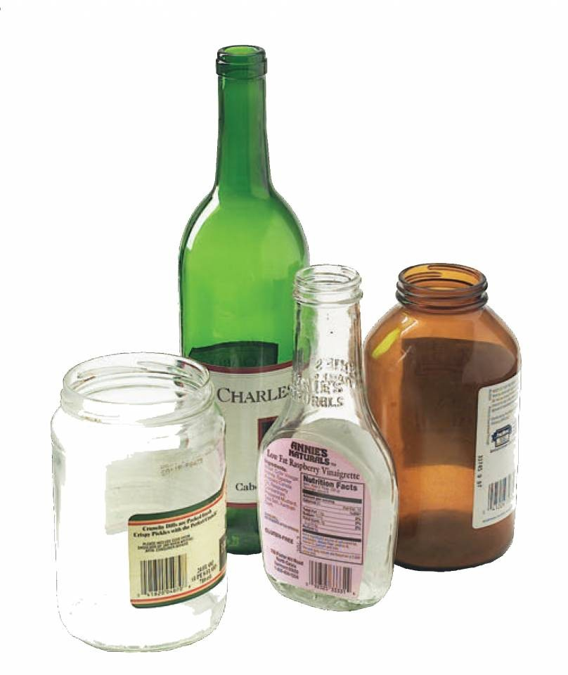 Tip Your Glass to Glass Recycling