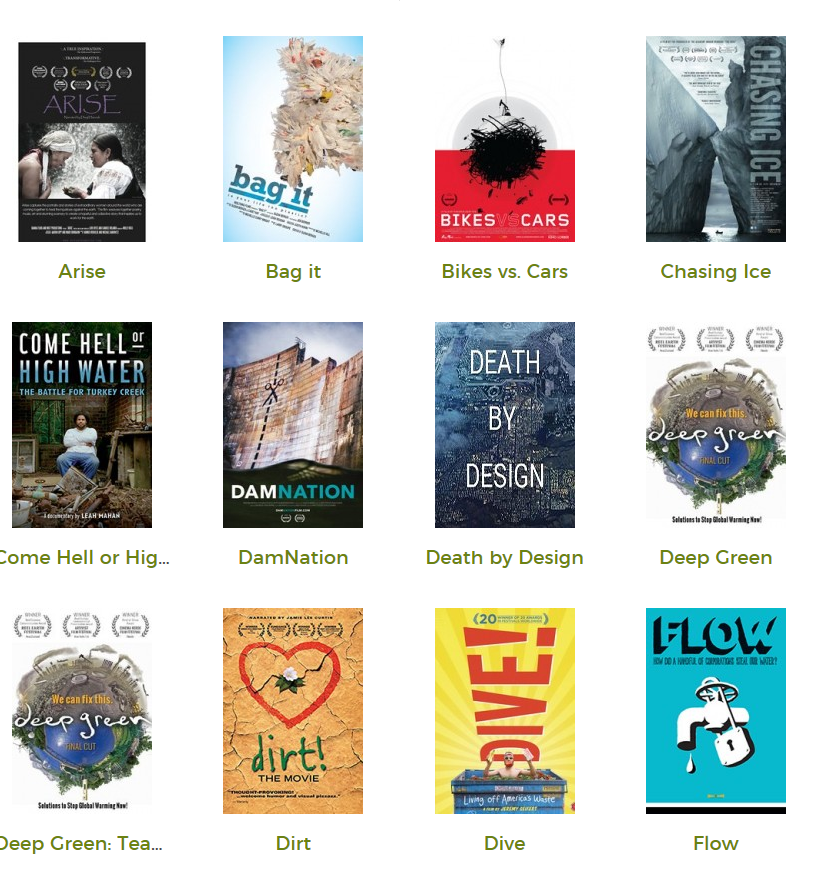 Eco-Film Library Now Available!