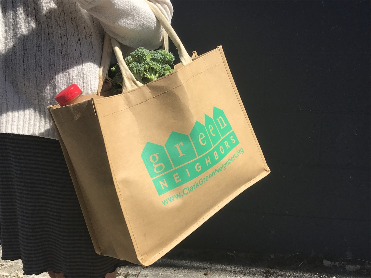 Green Neighbors Reusable Bag