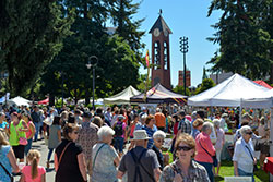 Crowd at Recycled Arts Festival